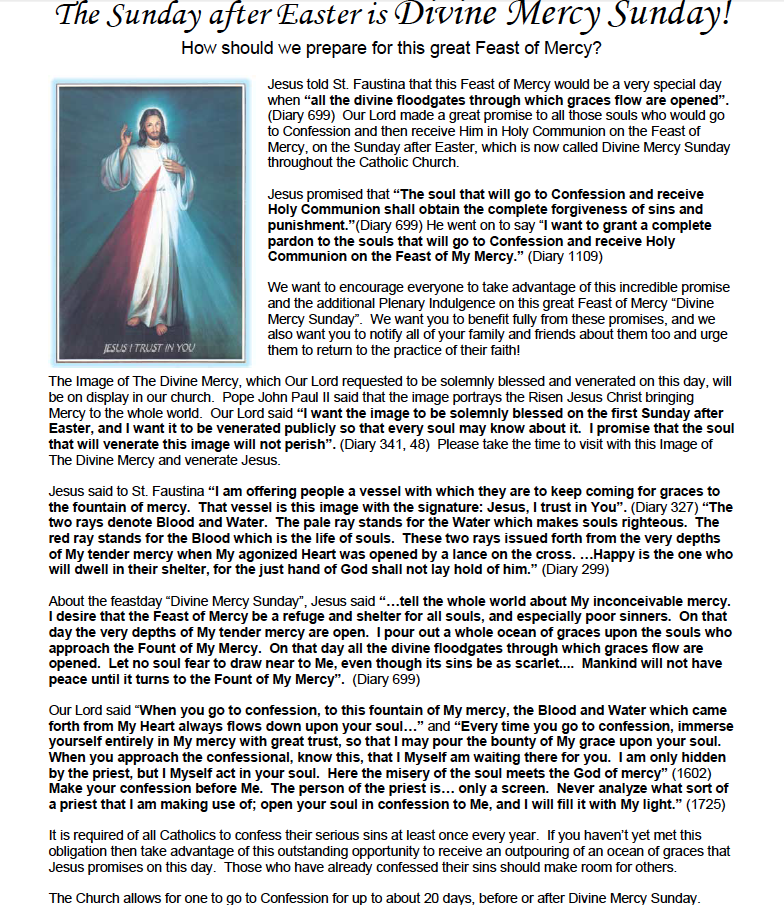 Our Top Picks For Preparing A Feast: How To Prepare For Divine Mercy Sunday