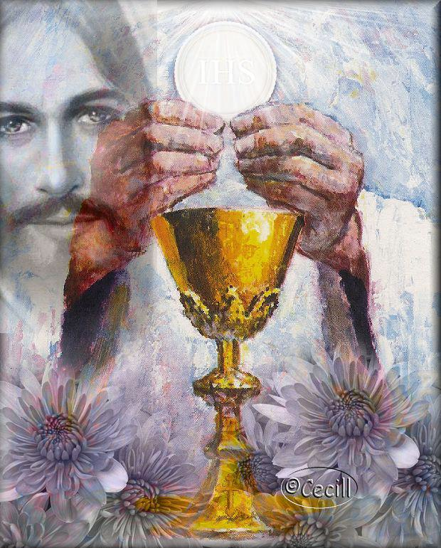 jesus host painting