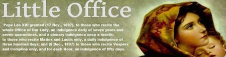 little office of BVM