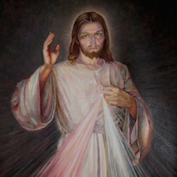 DnA Divine Mercy Painting small pic