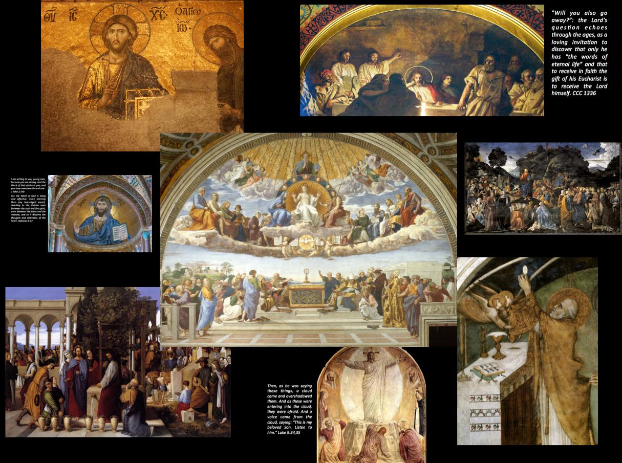 Luminous collage